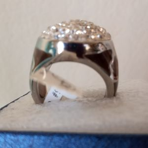 ONE DAY🔥KALIFANO  CRYSTALS RING NWT